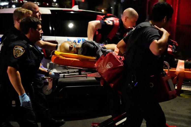 Masked gunman killed by police in wild Brooklyn shootout