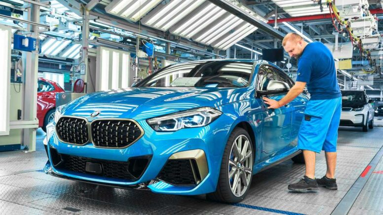 BMW 2 Series Gran Coupe Enters Production