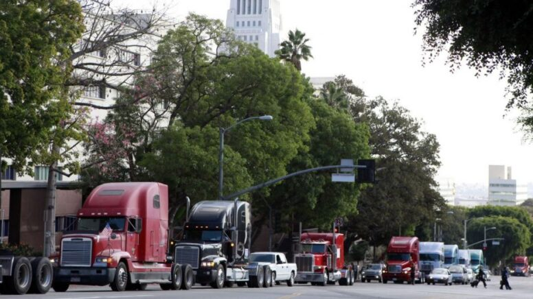 California gig economy law to strip truck drivers of highest-paying industry jobs