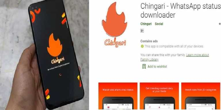 Chingari: TikTok Alternative Indian Social App