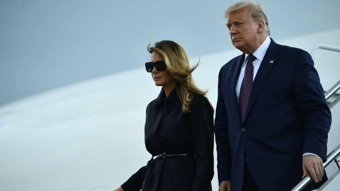 President Trump, Wife Melania Test Positive A Month Before US Election